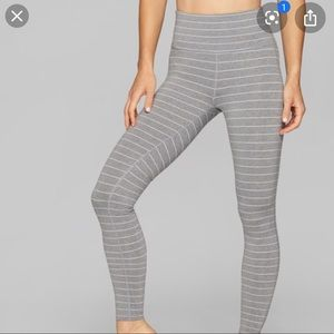 Athleta grey chaturangua leggings